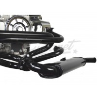 Sistema Kit escapamento VW Fusca 4x1 Quiet Pack EMPI